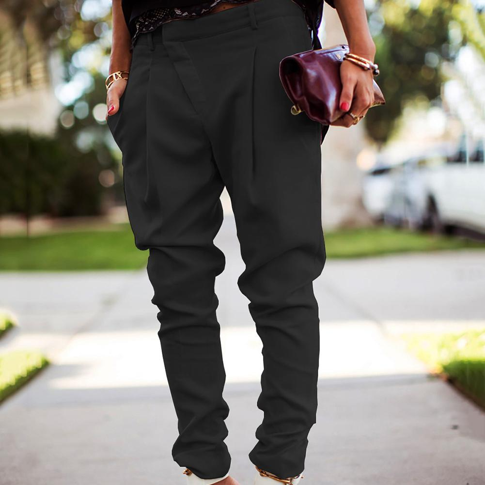 Fashion Womens Solid Color High Waist Stretch Poets Skinny Pencil Pants Stylish Female Long Trousers Pants green pants