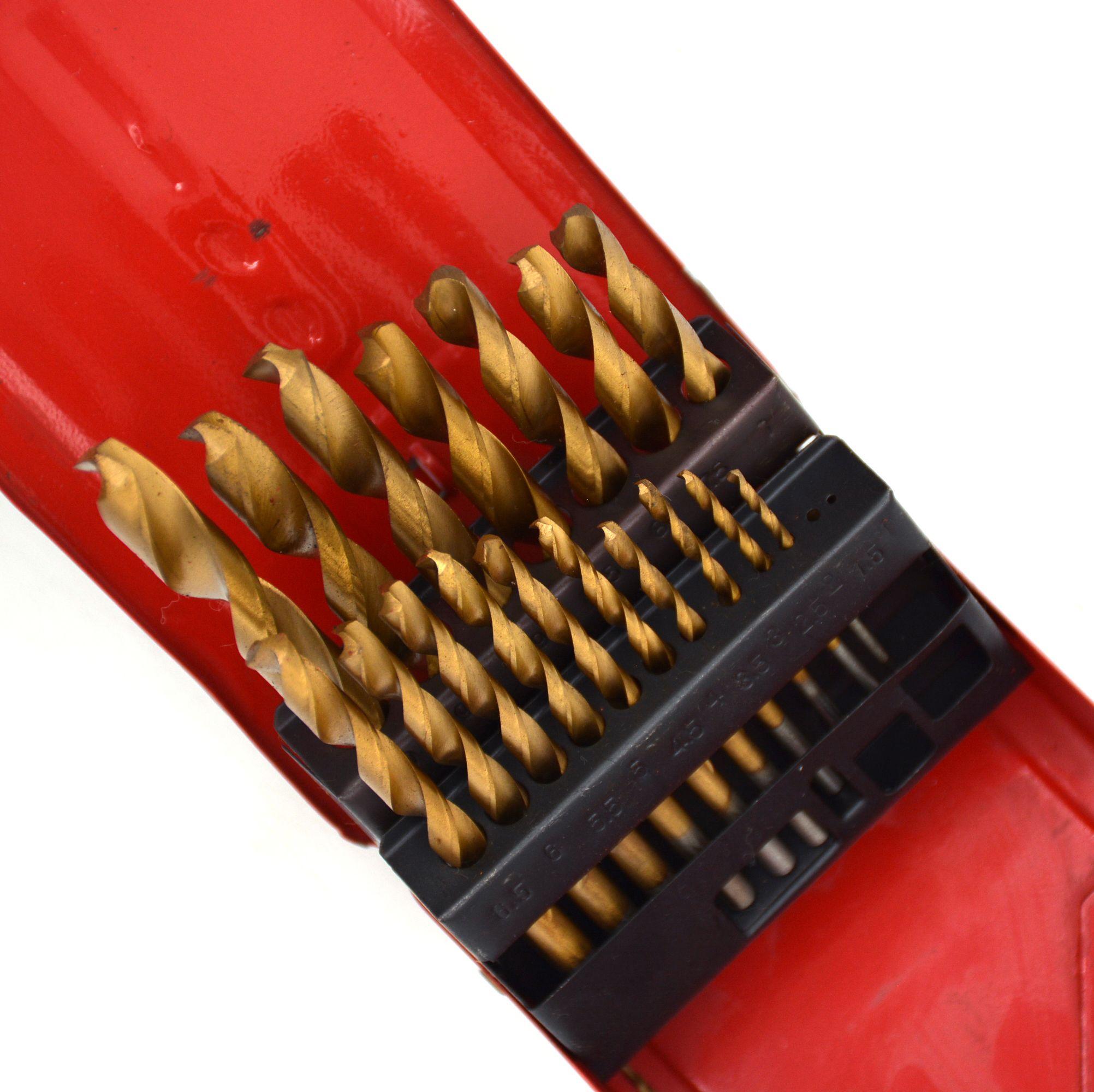 RICHOICE spiral titanium hss step drill bit set 4-12 4-20 4-30 5-28 6-38 6-32 6-25
