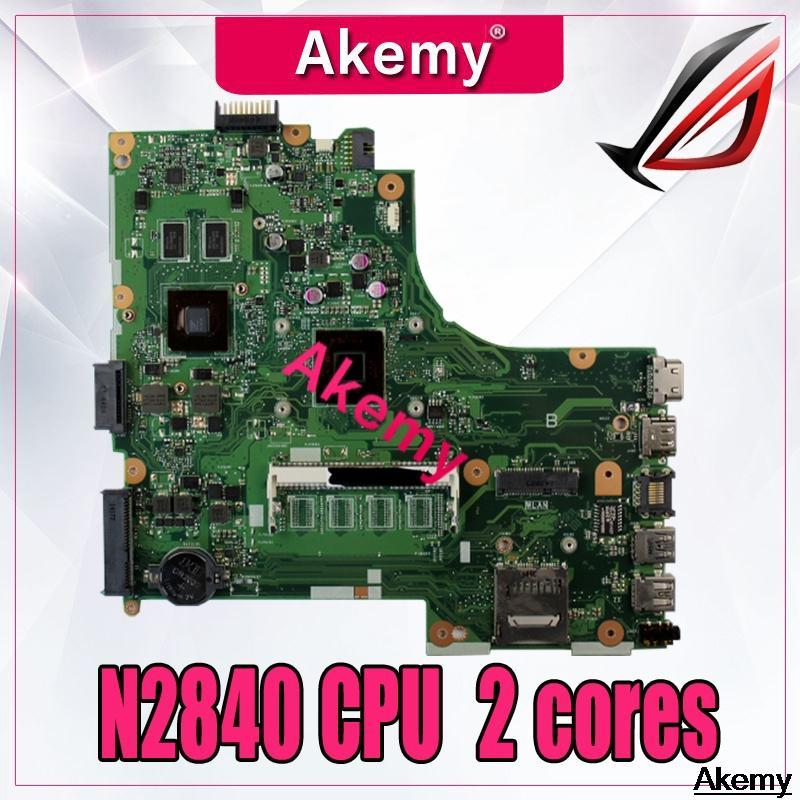 X450MJ Laptop Motherboard For Asus X450MD X450M X452M X450MJ Mainboard 100% Tested With N2840 CPU 2 cores