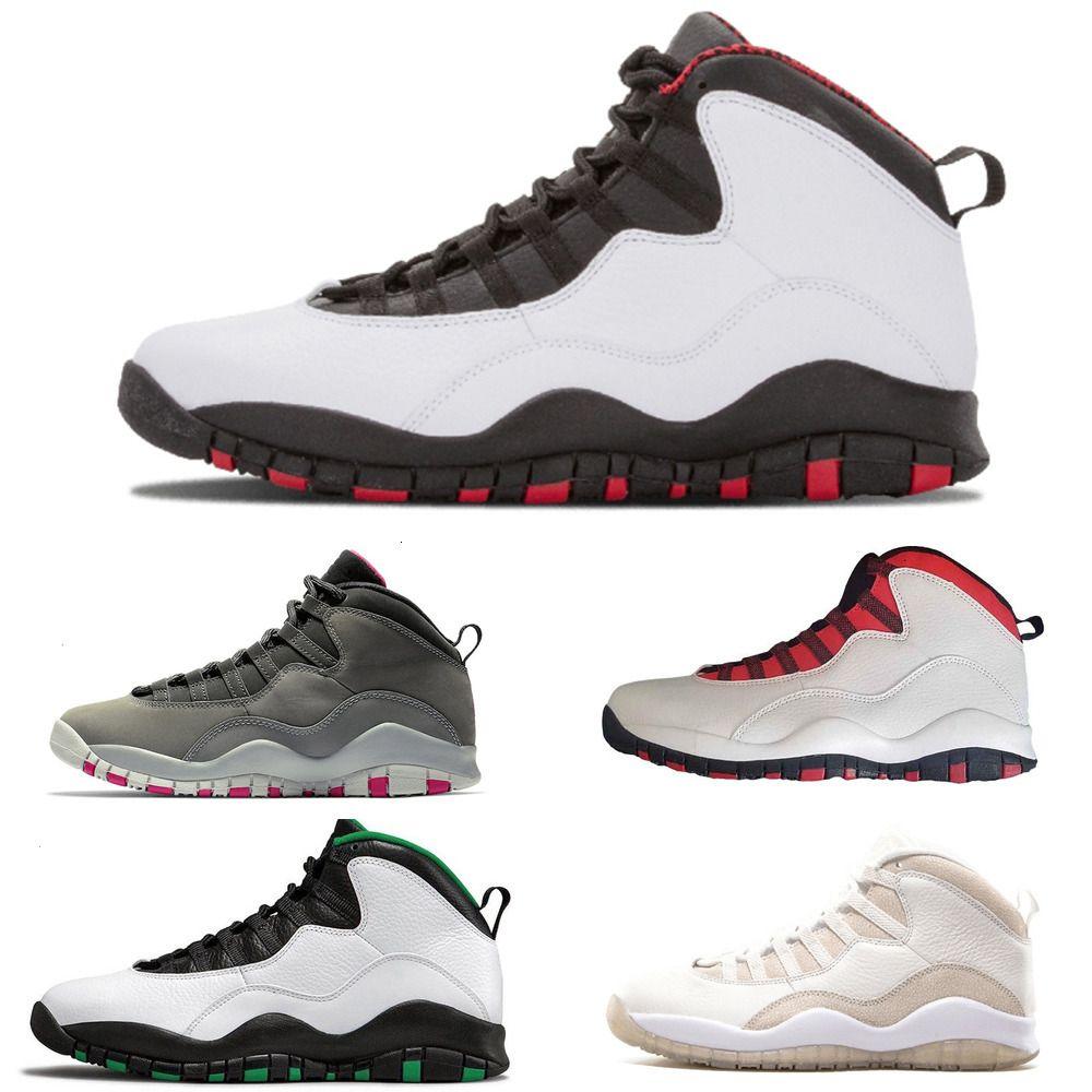 10 Seattle New Basketball 10s arrivent en acier Westbrook Je suis Hommes retour GS Fusion Red cool sports paniers gris baskets Shoes2PIX2PIX2PIXOEVFOEVFOE