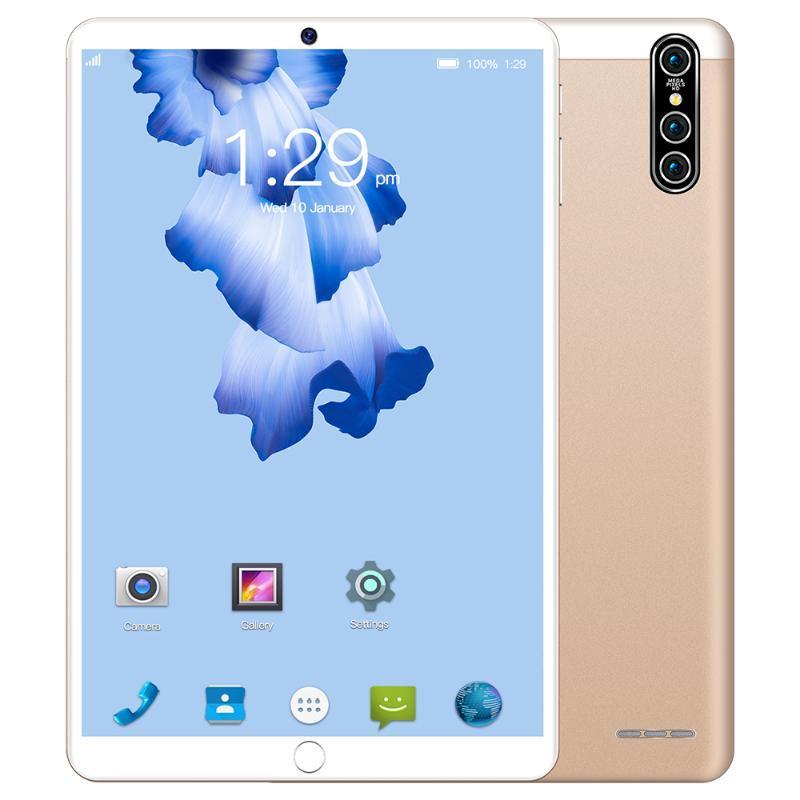 Tablet PC 10,1 pouces TEN CORE 4G Réseau WiFi Android 7,0 IPS Dual Sim Camera Arrière 1280p Bluetooth 4.0 Digital