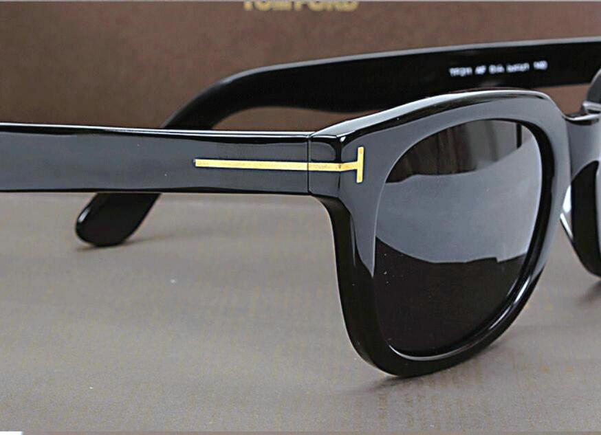 Lujo Top Qualtiy New Fashion 211 Tom Gafas de sol para hombre mujer Erika Eyewear Ford Designer Brand Sun Gafas de sol con caja original gratis Shippin