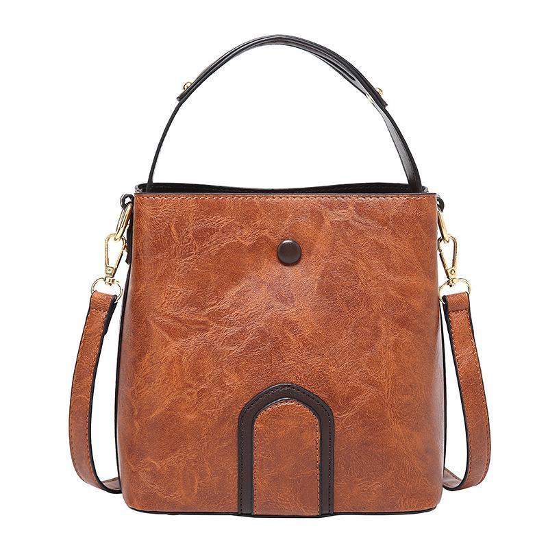 bolso del mensajero del hombro salvaje bolsa de depósito nuevo de la moda retro bolsa de las mujeres
