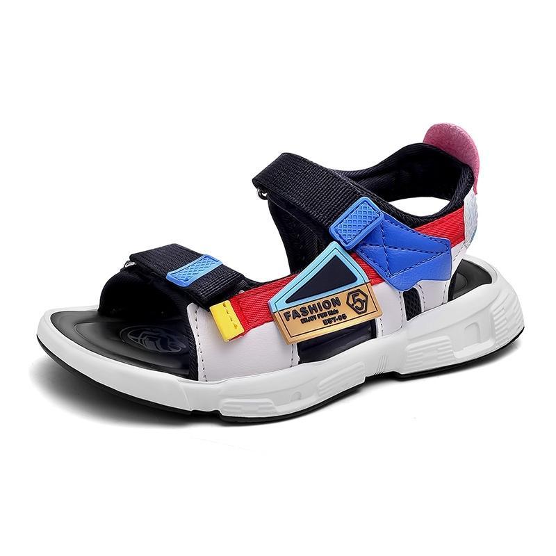 Летние моды детские сандалии для детей обувь для мальчиков Boys Sandalia Beach Быстрые сушки открытого пальца Sandalia удобно Y201028