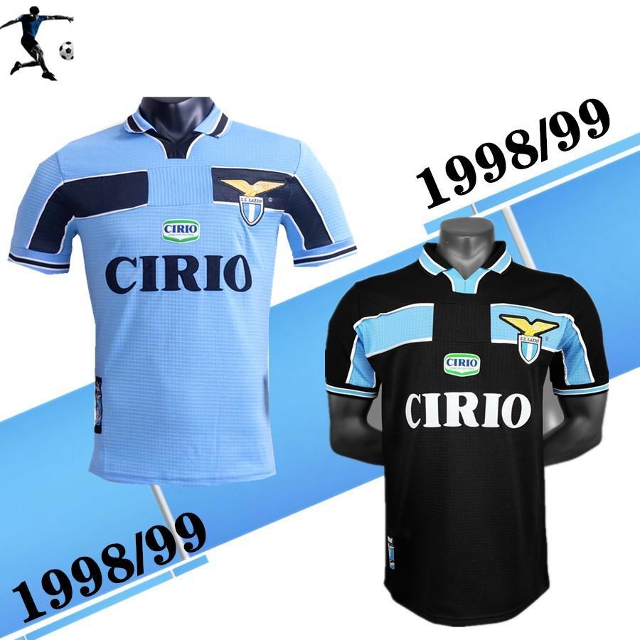2021 1998 2000 Lazio European Home Away Retro Soccer ...