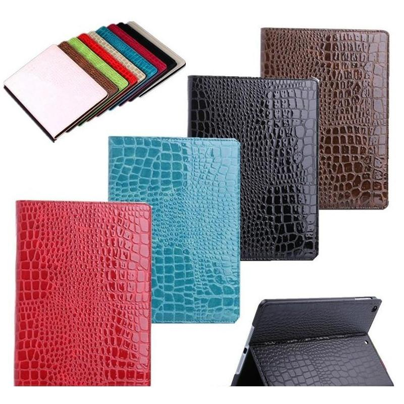Luxury Leather Case For Ipad Pro Crocodile Stand Card Pocket Pu Protective Cover For Ipad 9.7 Air/a jllUdc xjfshop