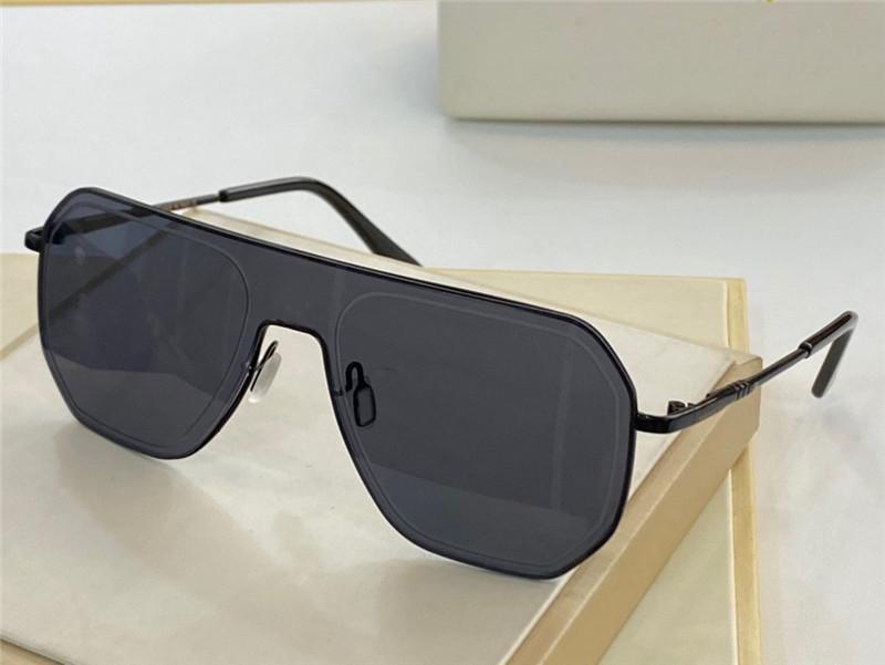 4387 Yeni Erkekler ve Kadın Güneş Gözlüğü Moda Tam Kare UV400 Ultraviyole Koruyucu Gözlük Steampunk Yaz Dikdörtgen Stil Gönderme Kutusu