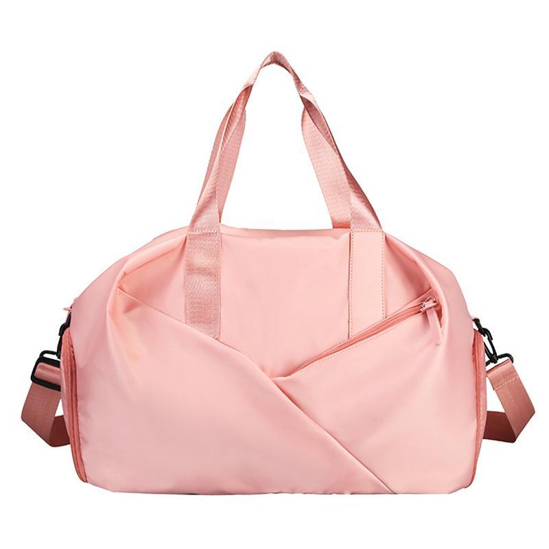 Sport Gym Fitness Dry And Wet Separation Yoga Waterproof Travel Handbag Women's Shoes Shoulder Bag Sports Suitcase Q1230