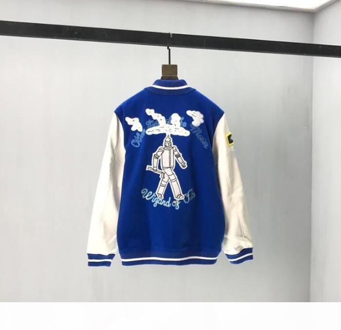 Designer uomo vestiti con cappuccio con cappuccio asciugamano giacca da ricamo mens cappotti invernali uomini designer maglioni uomini s vestiti bianchi nera blu 06