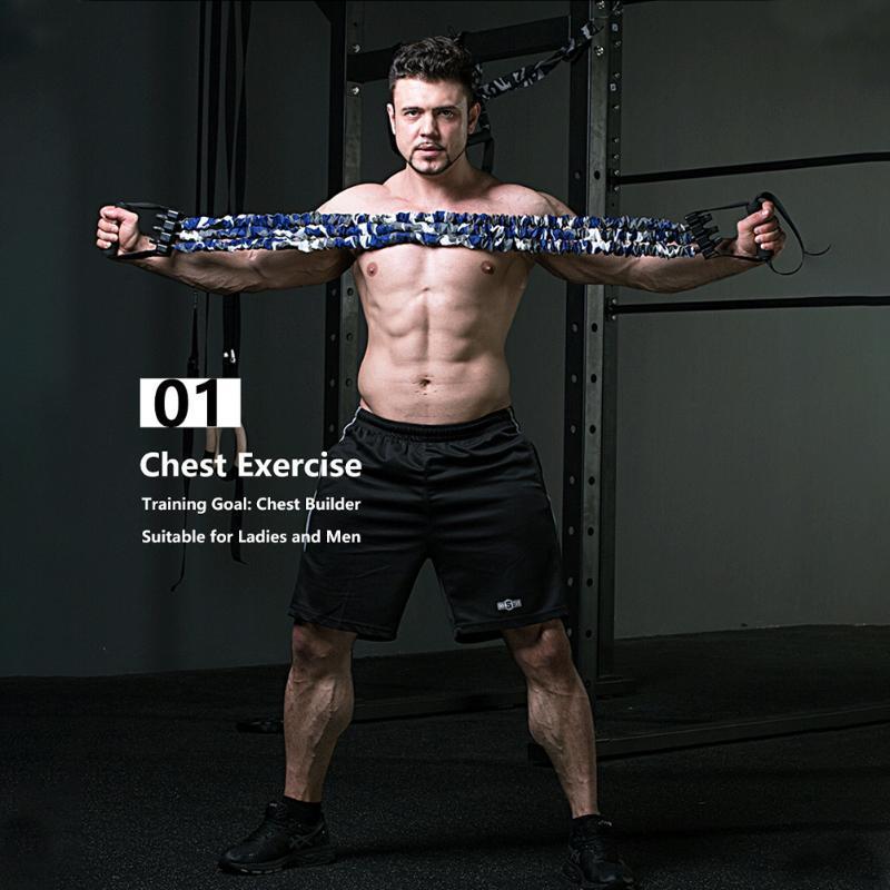 Скамья сопротивления полосы сопротивления PUSH UP съемный съемный грудной мышц построителя ARM Excander Home тренировки тренировок спортзал фитнес путешествия