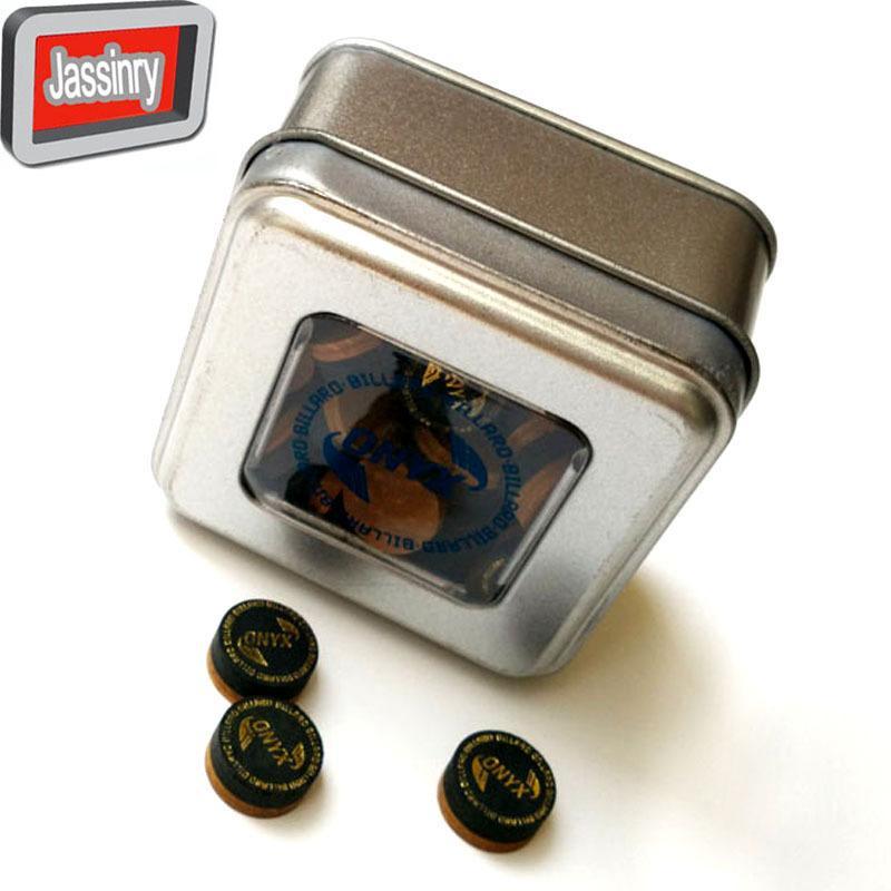 50 pezzi consegna gratuita 14 millimetri di alta qualità nero e marrone Onyx biliardo coda biliardo accessori all'ingrosso