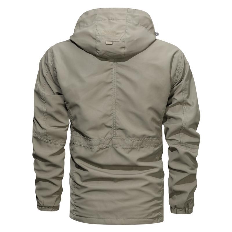 Herbst-Winter-Cotton Military Jacket Men Tactical Mantel Soldat MA1 Armee Mäntel Männlich Marke Bomber Jacken Mann mit Kapuze Piloten im Freien 201014