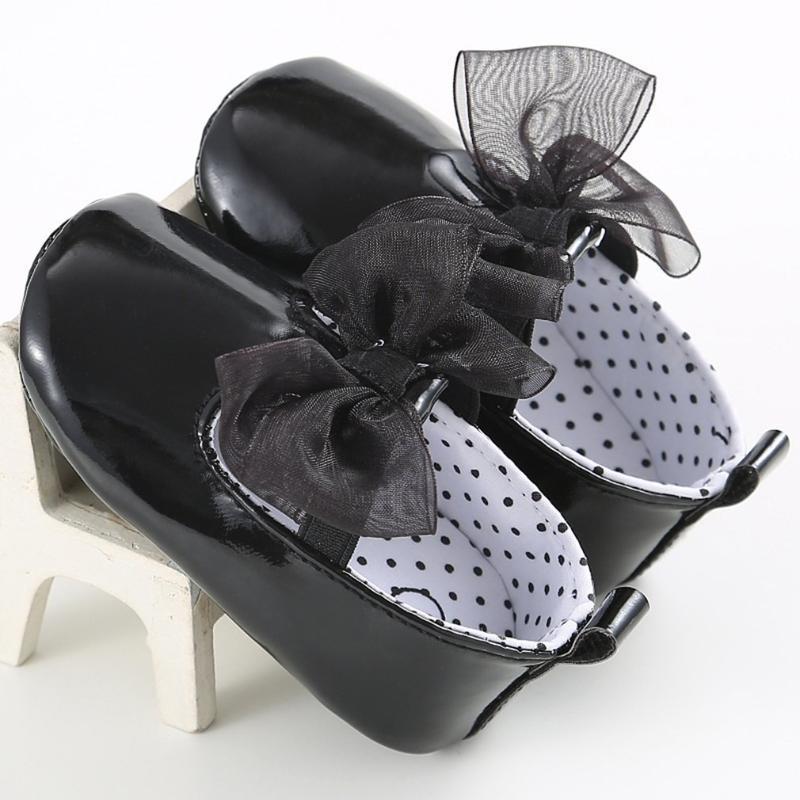 Младенческая девочка Принцесса Мягкая подошва Обувь для малышей Крован для Кроватки Джинсовые Предыдущие Уокеры Шири