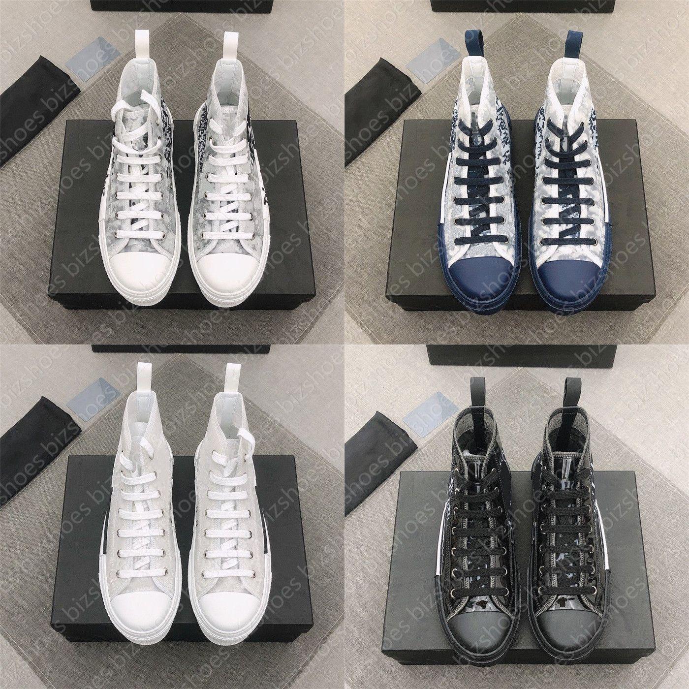 Eğik Tasarımcı Sneakers 19 Dantel-up Platformu Ayakkabı Siyah Beyaz SS Kadın Erkek Sneaker Baskı Teknik 23 24 Günlük Ayakkabılar