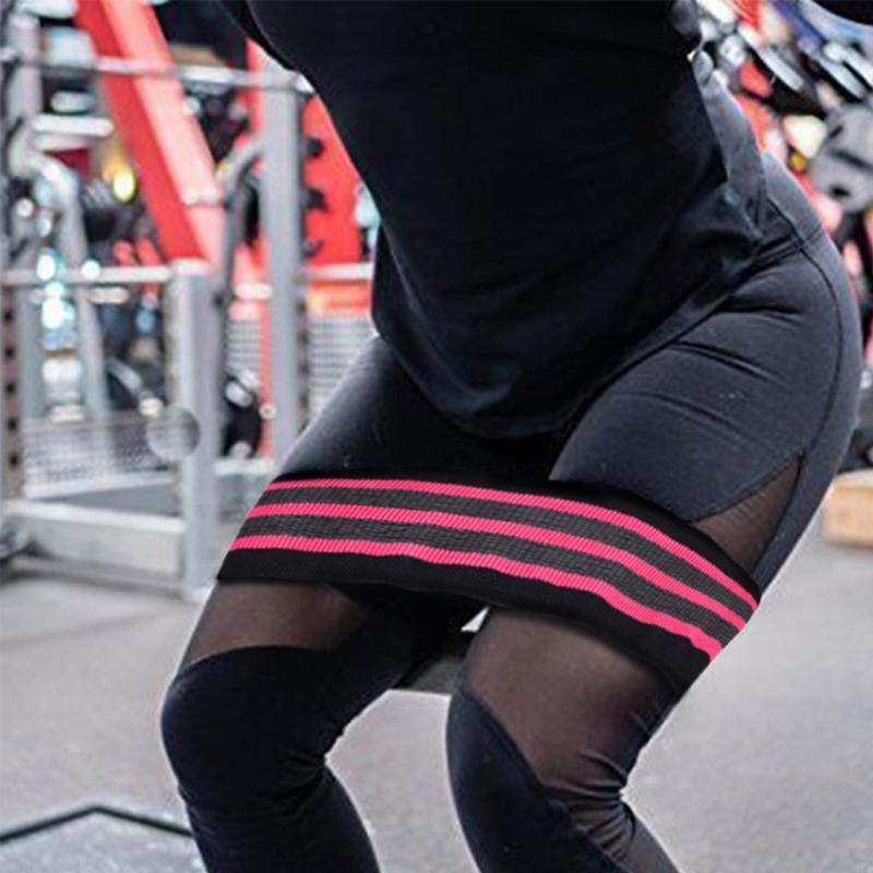 Allenamento di resistenza banda di nylon di slittamento non Fitness glutei Esercizio Bodybuilding elastico Yoga Forza Palestra Sport