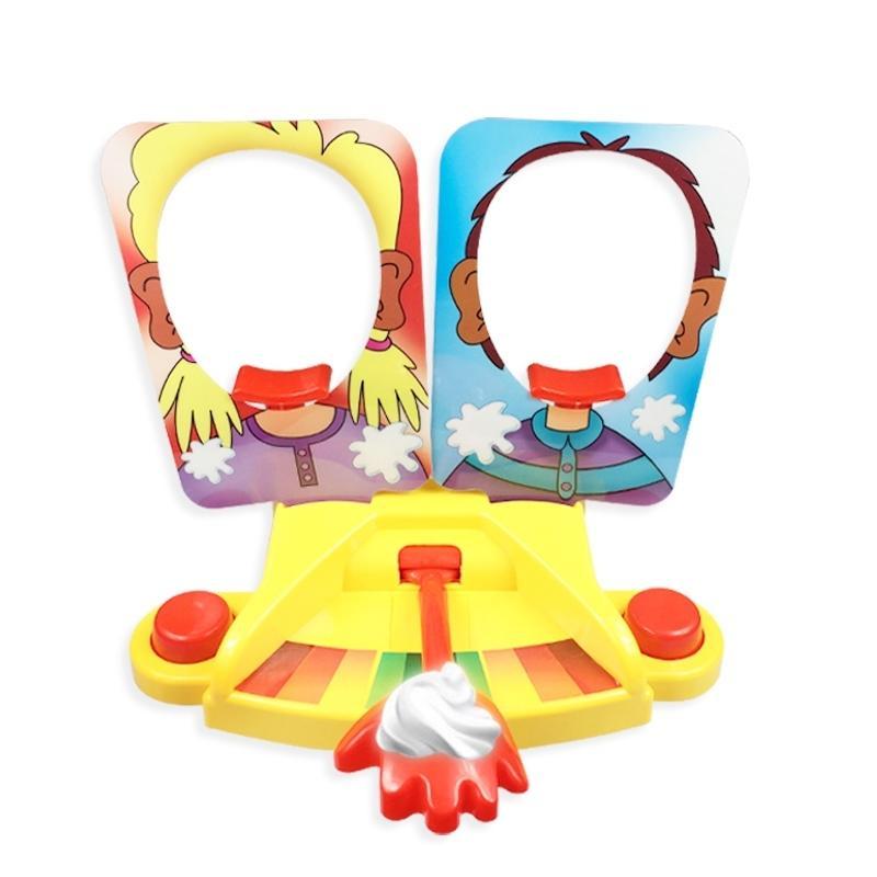 صدمة لعبة كعكة كريم فطيرة في الوجه عائلة حزب متعة لعبة مضحك الأدوات المزحة الكمام النكات مكافحة الإجهاد لعب للأطفال Y200428