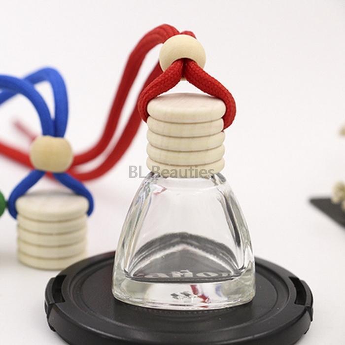 100 шт. / Лот 10 мл 12 мл мини прозрачный подвесной автомобиль парфюмерные бутылки паровые аксессуары пусто