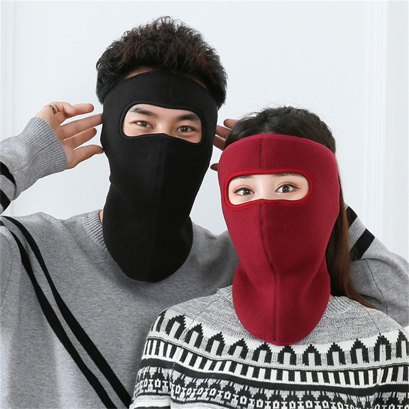 Флис маска для лица зима теплая анфас обложка для взрослых Facekini Trooper маска Спорт Горнолыжная маска Велоспорт Protector Headwear шарф шапки F101602
