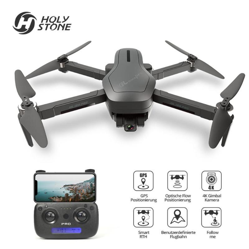 Holy Stone GPS drone 4k profesional Brushless 4K FHD camera 5G 1000M WIFI RC Dron Quadcopter with 2 Axis anti-shake Gimbal