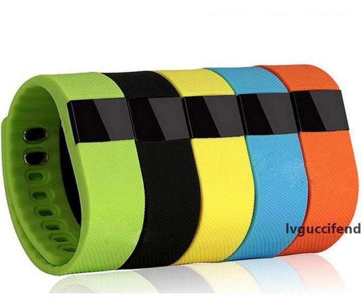 TW64 intelligente Braccialetto Bluetooth 4.0 fitness Attività Tracker Wristband della fascia del Smartband Sport Watch Non Fitbit Flex Fit Bit ios TW 64