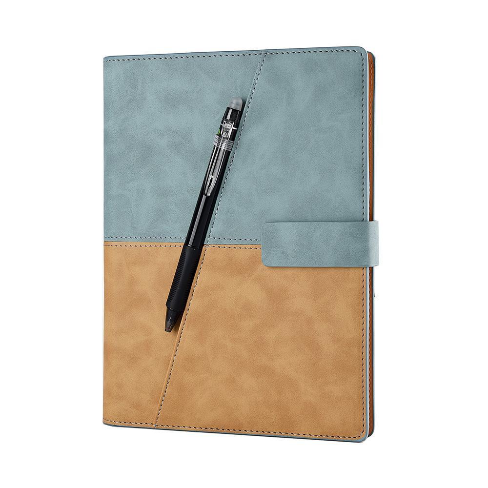 رسم كتابة الجلود دوامة a5 دفتر الذكية reusable مجلة erasable المفكرة elfinbook x مدرسة مكتب هدية اللوازم T200727