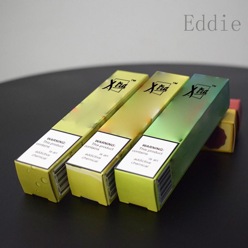 Puff Xtra Xtra Einweg-Geräte-Pod Kit 1500 Puffs Prefilled 5,0 ml Patrone Akku Vape leeren Pen VS Bar Air Plus Flow-Glow