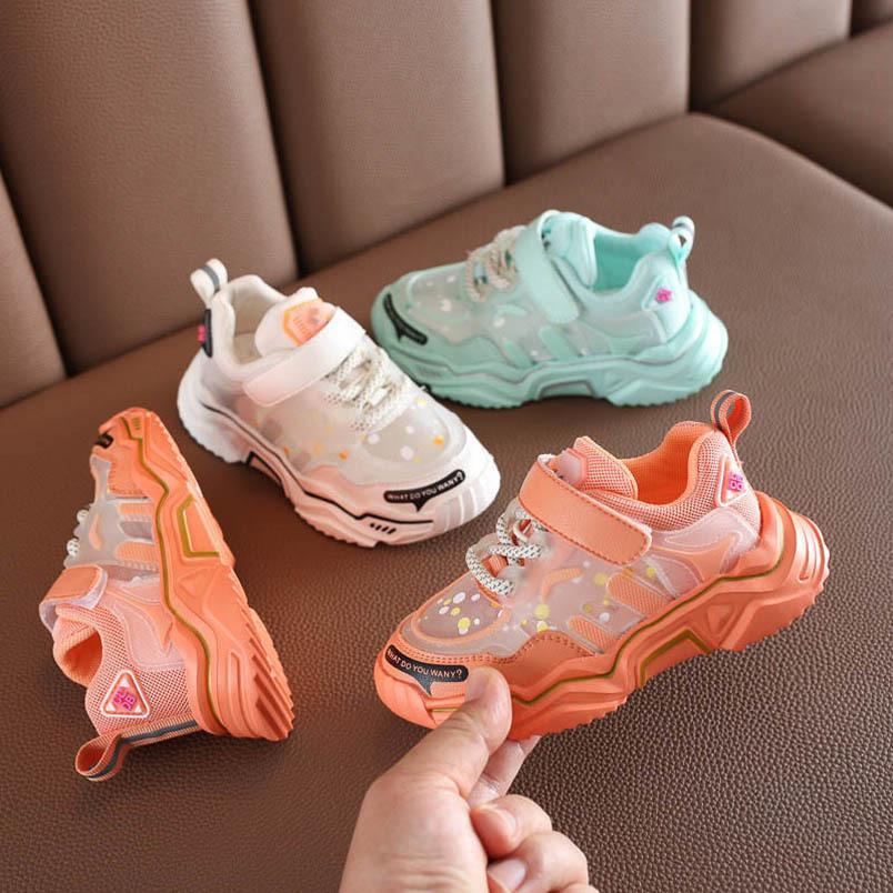 2020 NUEVO SOMMOR NIÑOS ZAPATOS NIÑOS Entrenadores para niños Zapatillas para niños Zapatillas de deporte Chaussures Enfants Zapatos de niñas Zapatos para niños Zapatillas de deporte para niños Sneakers minorista B1540