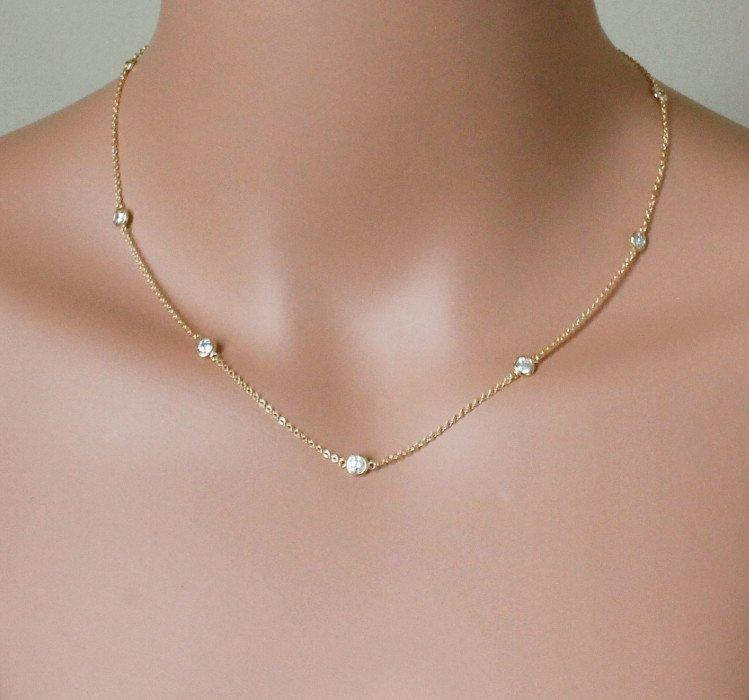 NEW Authentic 925 sterling silver cz bead cute women choker 40+5cm extend silver chain necklace