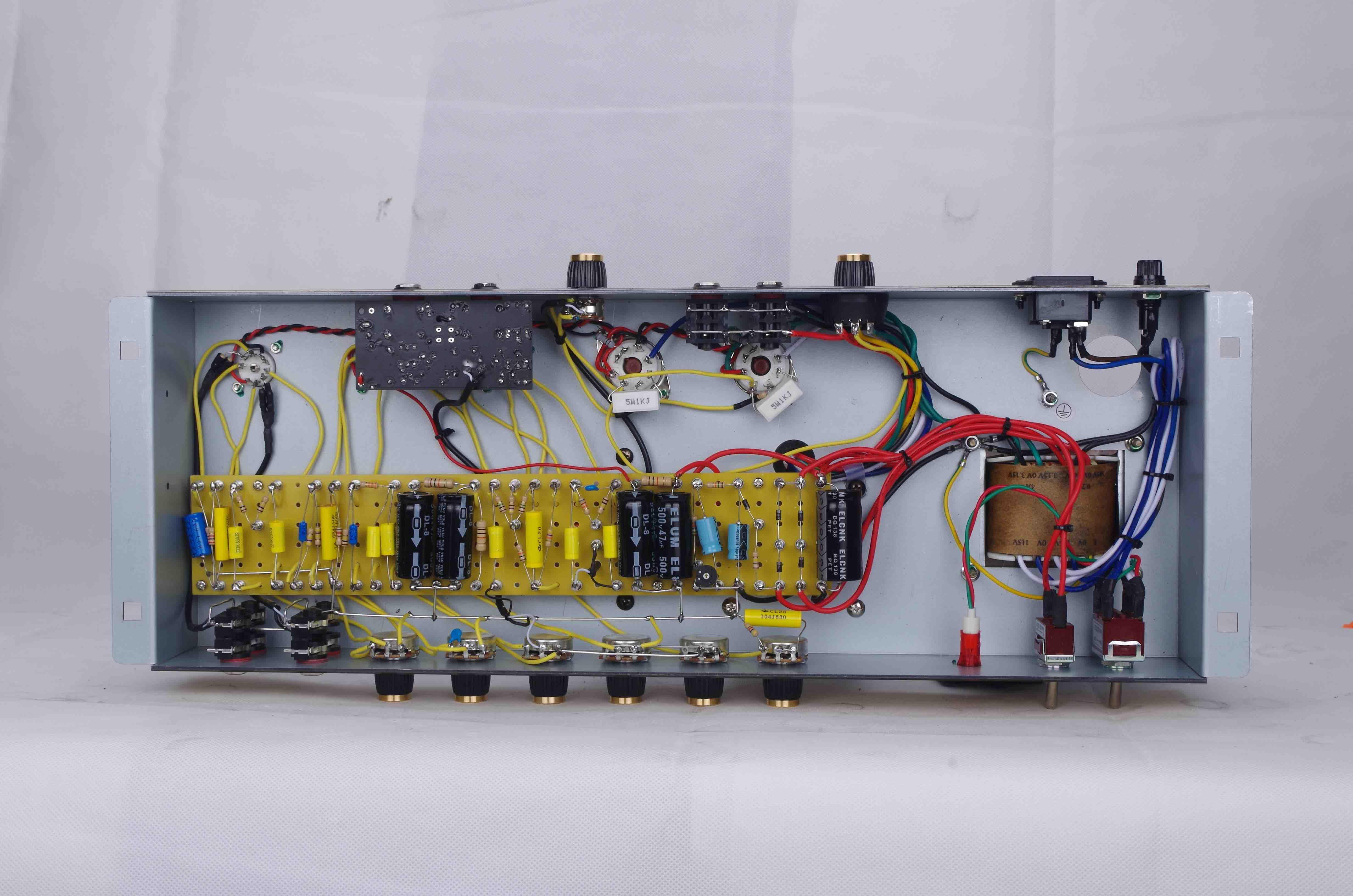 Pleksi59 Vintage Kabine El Kablolu Tüm Tüp Elektro Gitar 50 W Amplifikatör Kafa Siyah KT66 Tüp Müzik Aletleri Ile Ücretsiz Kargo