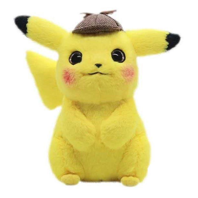 Heiß ! New Detective Pika Soft-Puppe-Plüsch-Spielzeug für Kinder Weihnachten Halloween beste Geschenke 28cm