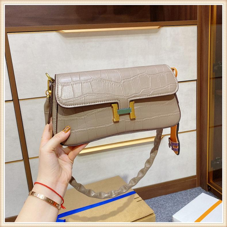 Cheap Fashion Bags Direct Women Constance Shoulder Bag 2021 Idea School Evening Waist Shopping Functional Original Bags Luggages Alligator