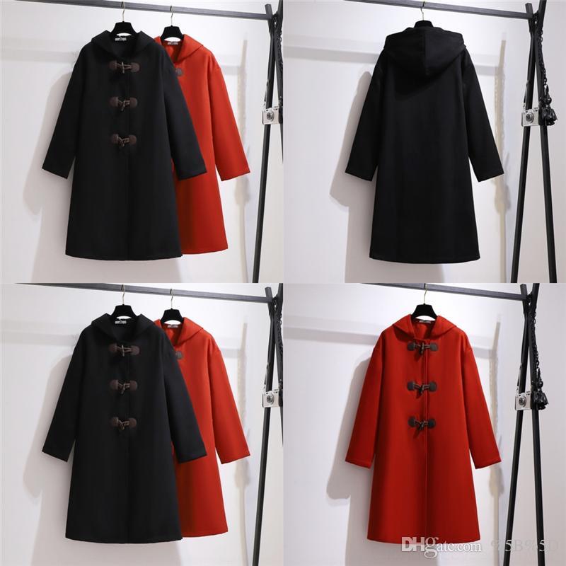 0zsv Men Designer Vintage Coats Trench woolen fashion Hooded overcoat Belt Double women Breasted Woolen Mid-length Windbreakers Coat