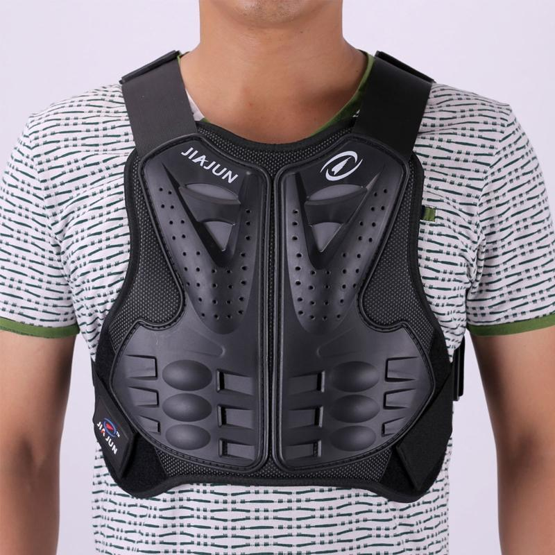 Motorcycle Armor Adult Dirt Bike Body Protective Gear Chest Back Protector Protection Vest For Motocross Skiing Skate Snowboard