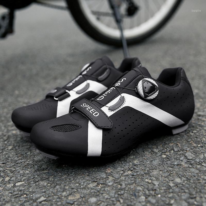 Respirável MTB Ciclismo Ao Ar Livre Sapatos Levantamento Reflexivo Auto-Locking Tênis Atlético Bicicleta Sneakers Homens Sports1