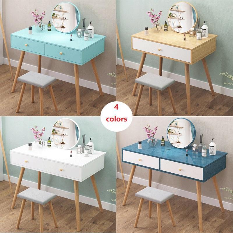 Schminktisch Modern Minimalistische Schlafzimmer Lagerschrank Mini Kosmetik Tisch Ein Nordic Makeup Table Net Red Makeup Home