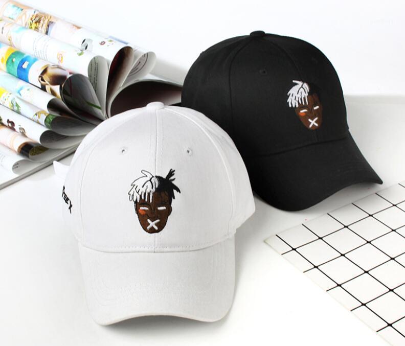 Yeni Moda Unisex Beyzbol Kap Şarkıcı XXxtentacion Dreadlocks Snapback Erkekler Kadınlar Için Hip Hop Şapka Moda Unisex Beyzbol Cap1