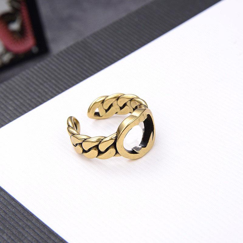 Fashion Round ring bague for lady Women Party Wedding Lovers gift engagement hip hop jewelry HB1210