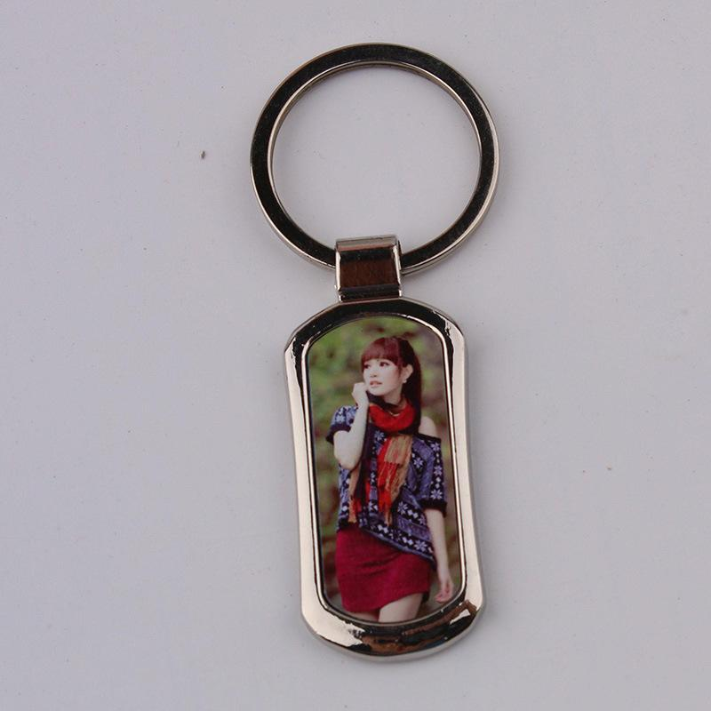 12 Styles Blank keychains For Sublimation Round Love Key Chain Iewelry Thermal Transfer Printing DIY Blank Material Consumables HHE4116