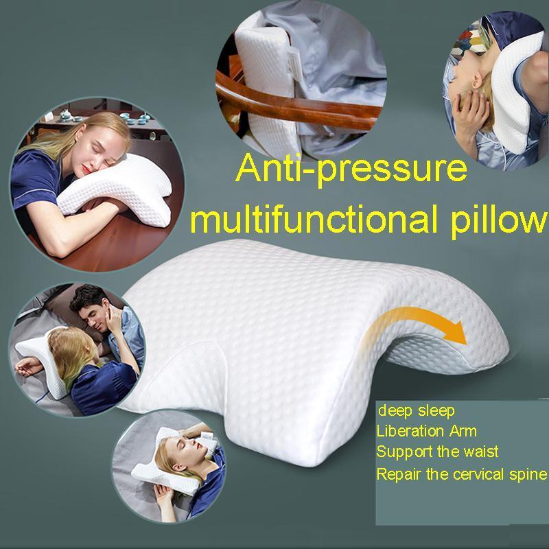 Memory Foam Cuscino Collo Protezione Multifunzione Memoria Anti-pressione Mano Pillow Health Braccio del braccio della coppia Letto Dormire cuscini da notte HM001