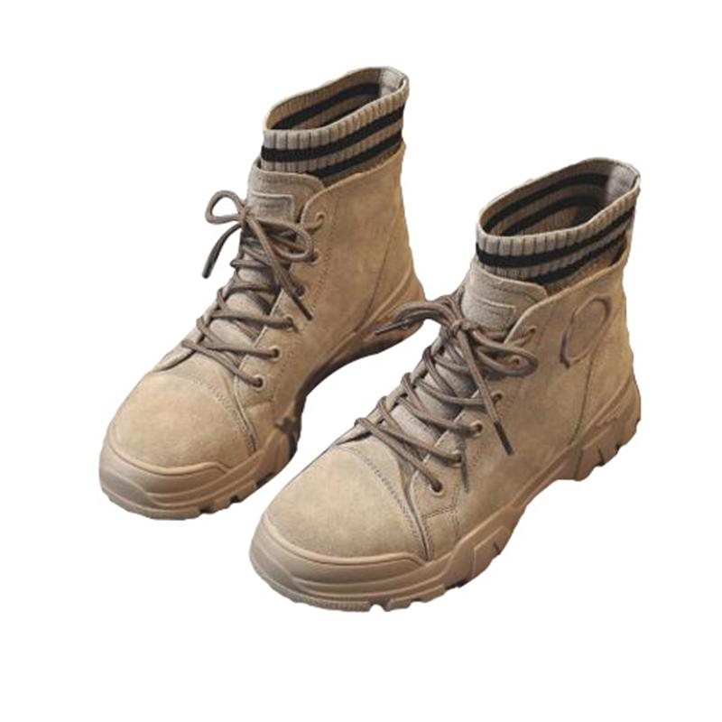 Venta caliente Martin botas de estilo británico de 2020 nuevos apuestos netos de algodón zapatos de cuero rojo salvaje del otoño de las mujeres botas de invierno corto, además de terciopelo