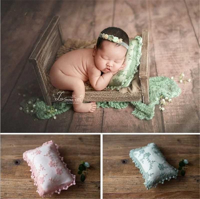 Fotografia Dvotinst bebê recém-nascido Props Floral Mini Levantando Pillow Poser Aids FOTOGRAFIA Acessórios Estúdio sessões de fotos Props i1Nz #