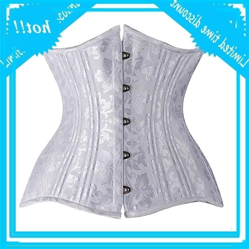 Nouvel acier désossé et bustiers sous-courants de corsets floraux formateurs de taille cinquante Cincher corps Shaper minceur sexy xs-6xl