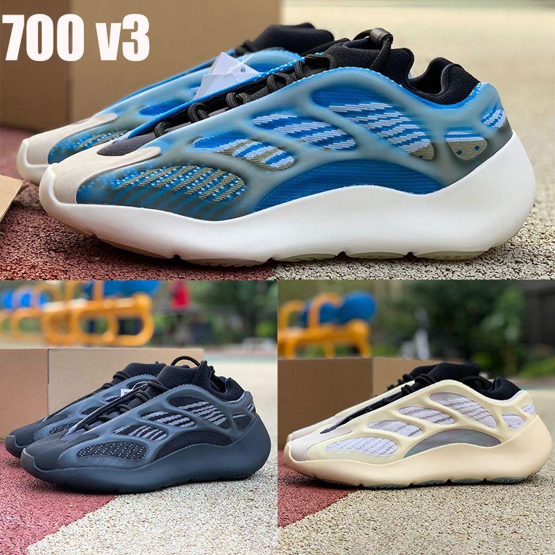 Nueva Azarath Kanye West 700 V3 zapatos para correr Azael Alvah OG srphym hombre reflectantes zapatillas de deporte de las mujeres de los entrenadores con la caja US 5-11