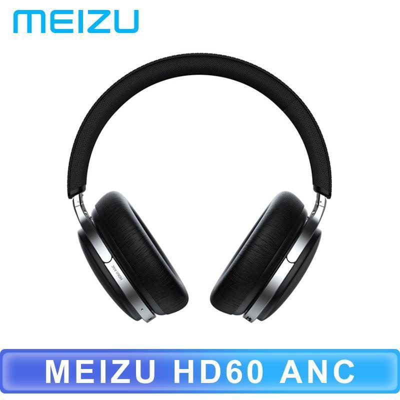 Originale Meizu HD60 rumore attivata cuffie USB-C Interfaccia Bluetooth Toccando funzionamento senza fili del trasduttore aptX HD