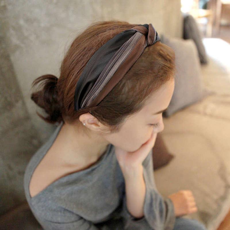 VIPHELDBAND Женская Корея простая широкая кромка расслоения, сладкий выходит из сетевого красного темперамента давление волос Hair Paint