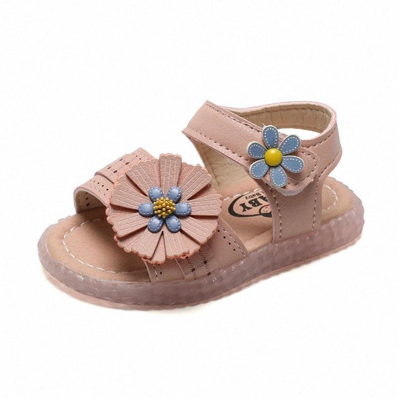 COZULLAA 2020 Bambino Bambini morbido sandali inferiori neonate Elegante Fiori sandali della spiaggia di estate dei capretti della principessa Shoes Size 15 25 Baby Sh r8kj #