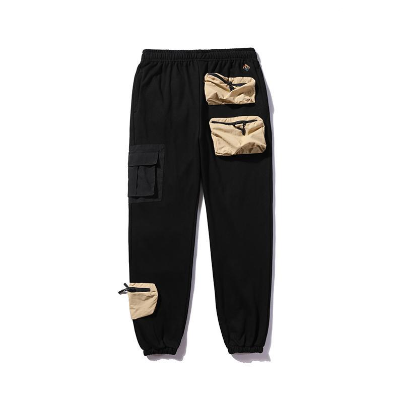 Harajuku Kaktüs Jack Streetwear Joggers Cepler Sweetpants Erkekler Ve Kadın Boy Nakış Harem Pantolon Baggy Rahat Trousesrs X1228