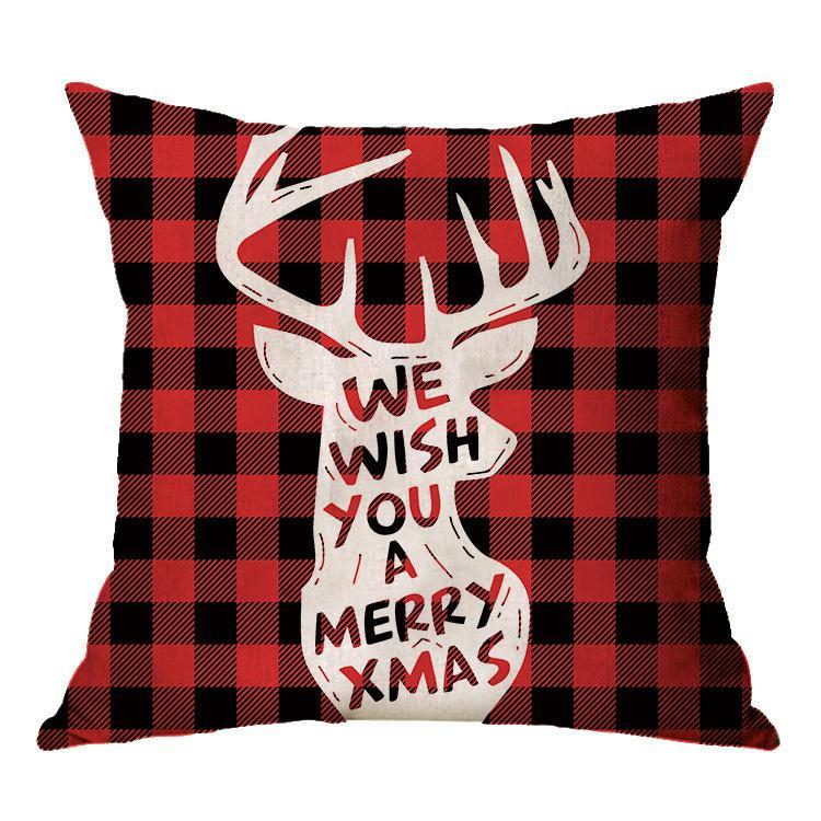 Navidad navidad ropa de la funda de almohada almohada atmósfera festiva de Navidad Decoración de interiores 40 estilos 45 * 45cm T3I51204