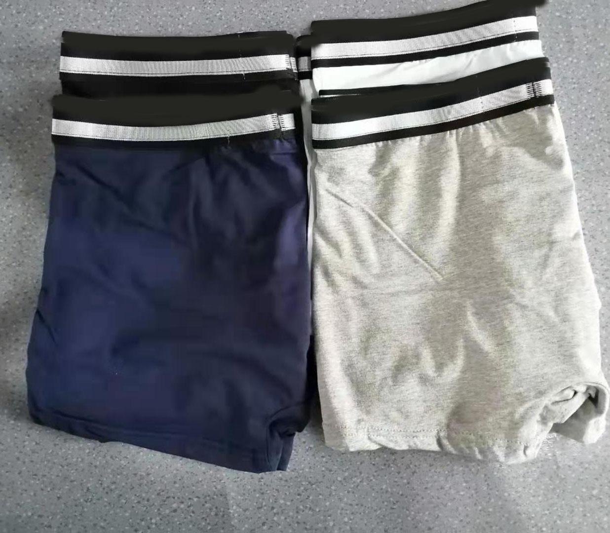 5 colori mens pugile biancheria intima pantaloncini in cotone sexy gay nuovo uomo biancheria intima da uomo pugile adulto boxershorts morbidi uomini pugili moda maschii mutande