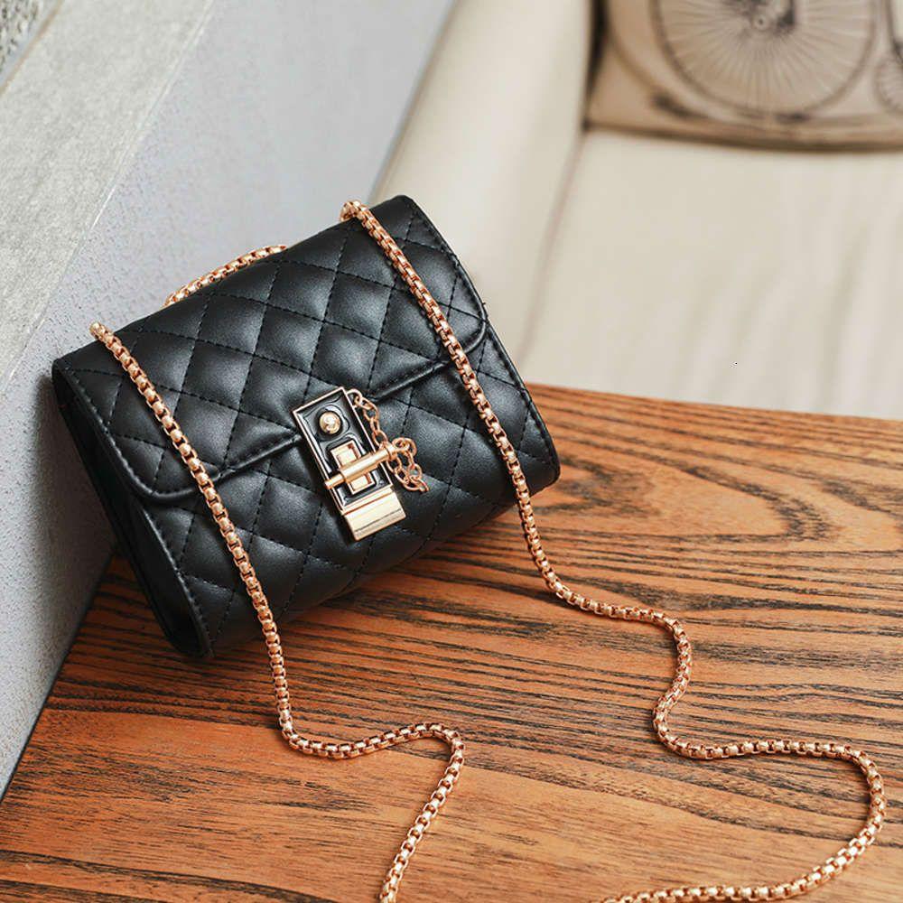 Diseñadores de lujos insectos pequeños 2021 Moda coreana Legal de mujer Cadena de mujer Cadena elegante de una sola bolsa de mensajero